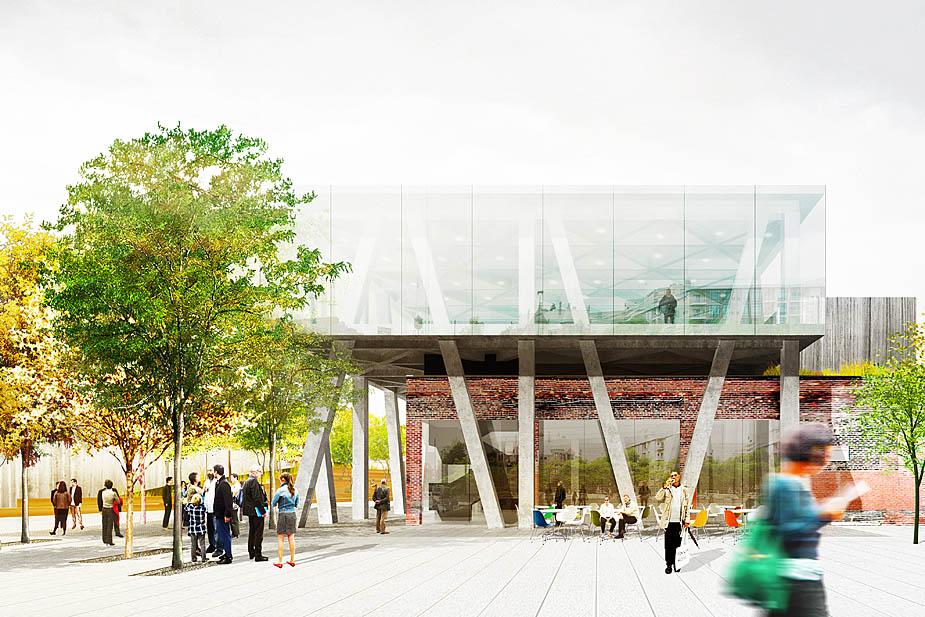 Rice Lipka Architects Museum Of Contemporary Art Detroit